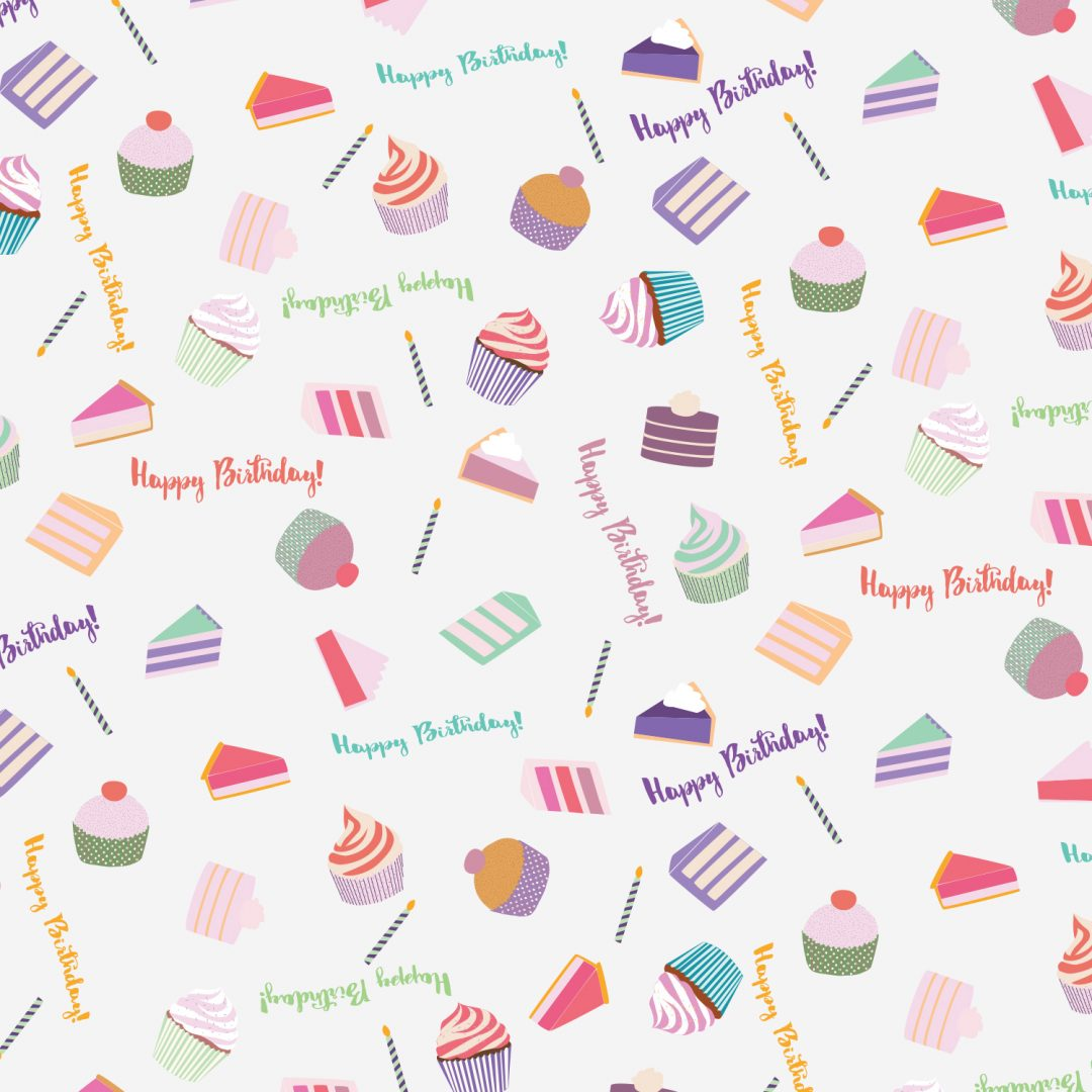 Birthday Wrapping Paper Gift Wrap