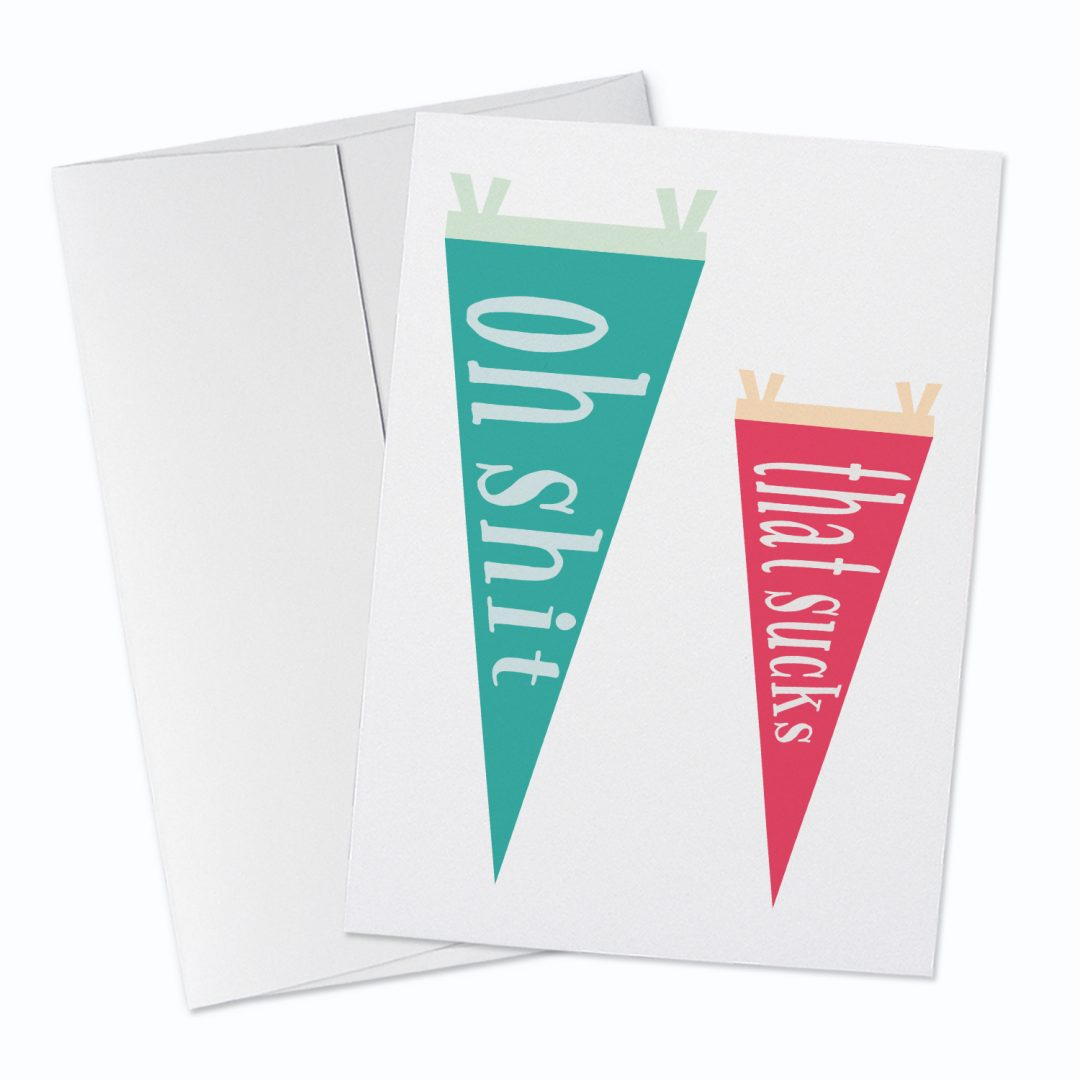 That Sucks Greeting Card