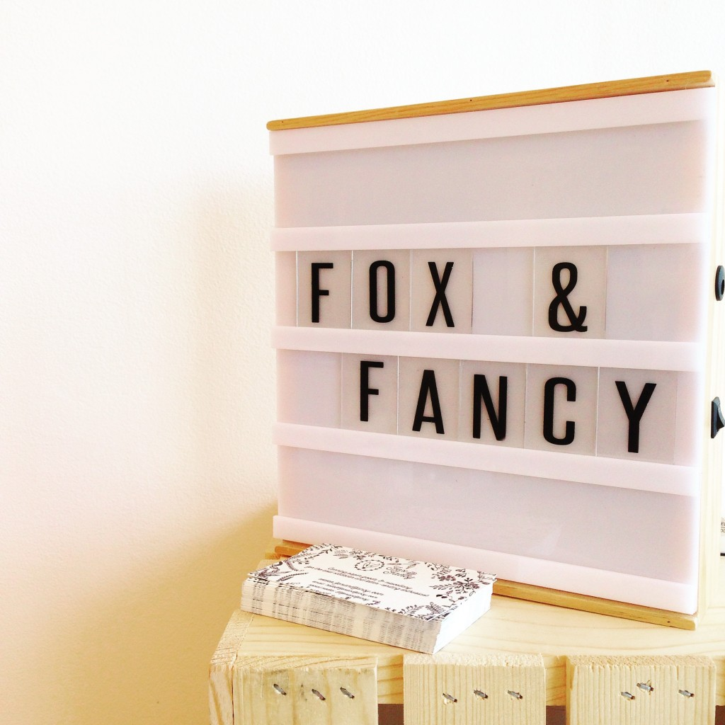Lightbox signage