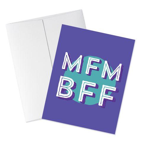 BFF Murderino Card