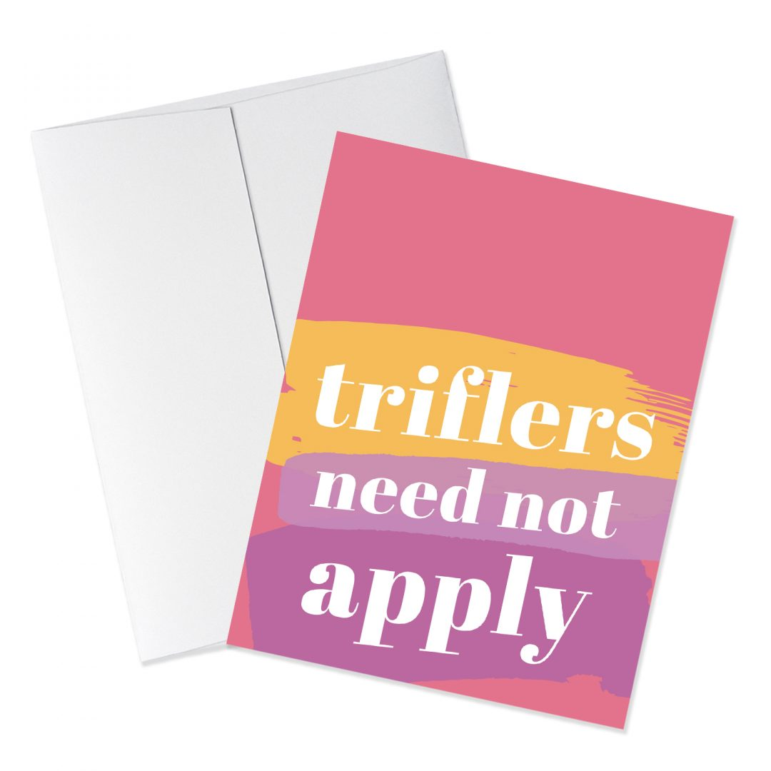 Triflers quote card