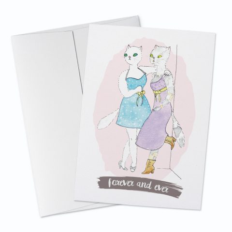 Forever and Ever Greeting Card