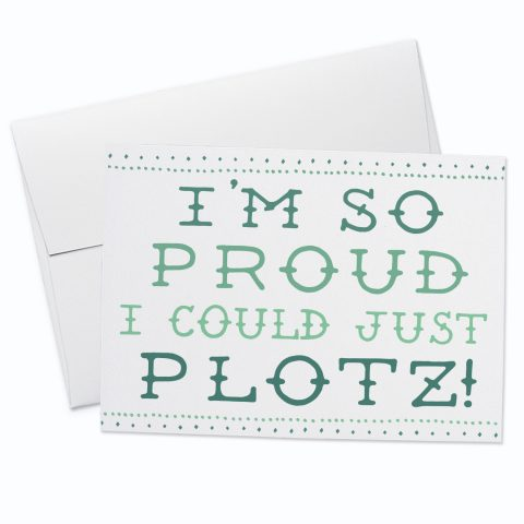 Plotz Greeting Card