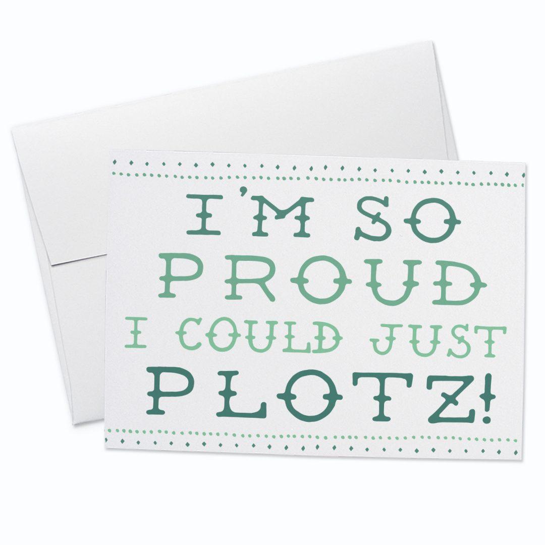 Plotz Greeting Card